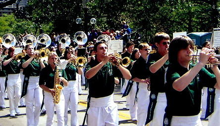 The 2009 Band Marches in the Minneapolis Lions Parade